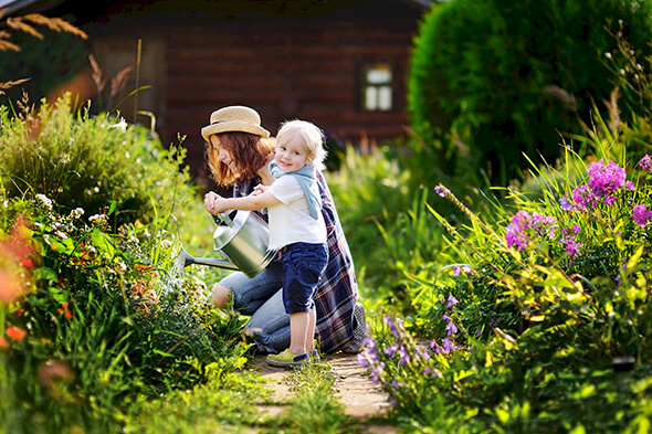 Home Recipes And Gardening: Family Time This Spring