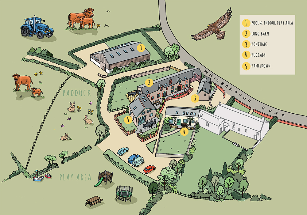 longlands barn map