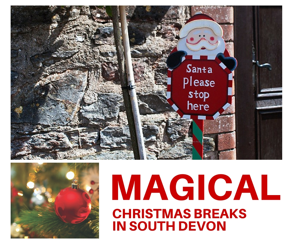 Magical Christmas breaks in south Devon -  Long Barn Luxury Cottages