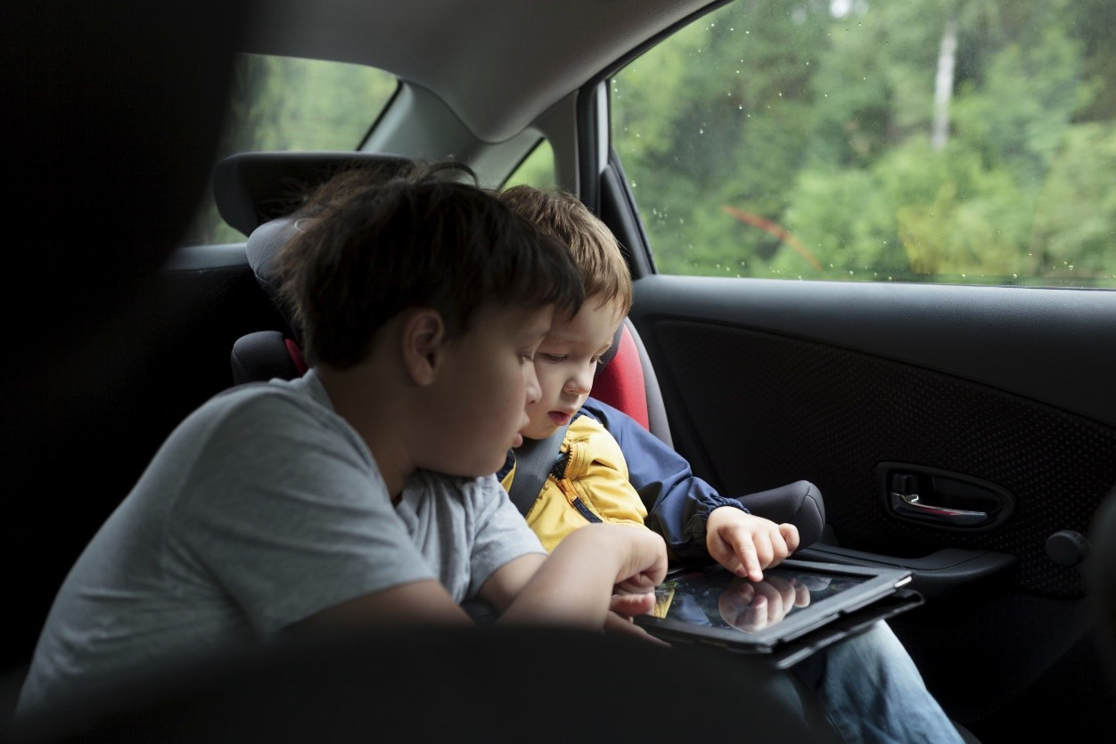 Tablets have become one of the most essential things for many car journeys